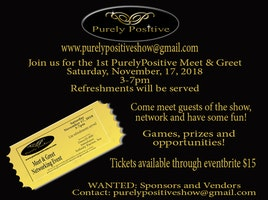 Purely Positive Networking Meet & Greet