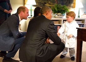 Prince George is So Adorable in His Jammies