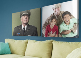 Canvas Prints for the Troops: 80% OFF PLUS FREE SHIPPING