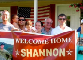 FREE Welcome Home Banner For Military