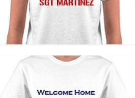 FREE Custom T-Shirt for Military !