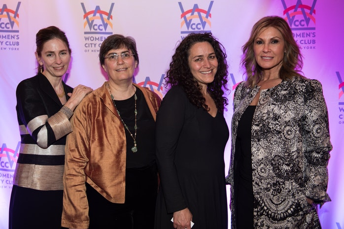 Women's City Club of New York Hosted the 2016 Civic Spirit Awards Dinner in Celebration of 100 Years of Activism