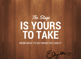#SocialMedia is your #Stage Now What? @Elizabeth_ink