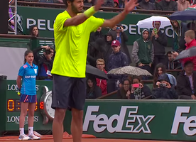 These Tennis Players Had an Epic Dance Battle on the Court