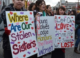 See The Woman, Hear The Indigenous Woman