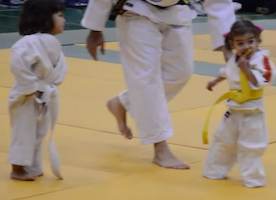 These Two Toddler Girls Have The Most Hilarious, Adorable Judo Match