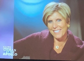 OWN Network Presents Suze Orman on her Talk for her new Book, Women and Money at the Apollo Theater