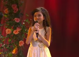 This 8-Year-Old Won the Country of Norway Over with this Song
