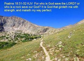 Psalms 18:31-32