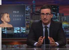 John Oliver: If America really loves moms, it should do more to support them