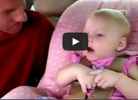 This Daughter Was Getting Placed Into A Car Seat When She Started Doing THIS. This is Priceless!
