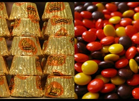 Reese's Peanut Butter Cups could soon be filled with Reese's Pieces