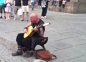This Man Has A Shockingly Unique Voice. See Why He Stunned Passersby.