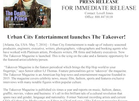 Press Release: Takeover Magazine Prince Issue Available