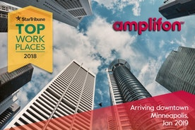 Amplifon Americas: Top Workplace 5 Years In A Row