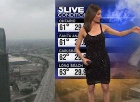 KTLA Meteorologist Liberte Chan Addresses Dress Moment That Gained National Attention