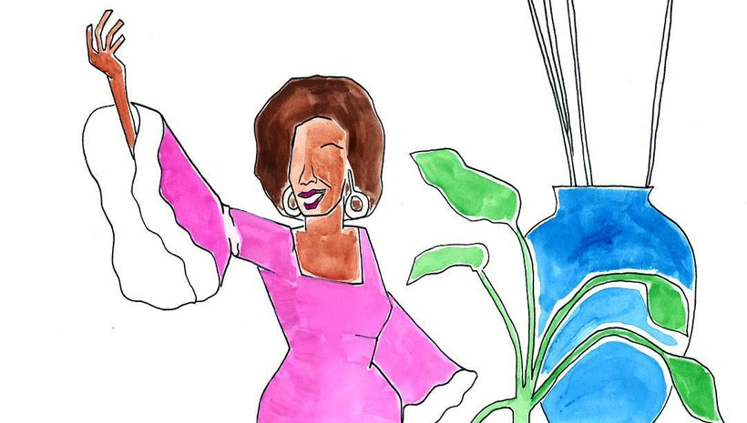 One Painting a Day for Latinx Heritage Month: Celia Cruz for Cuba