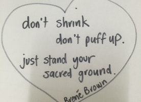 Stand your SACRED GROUND!  You are more than enough.