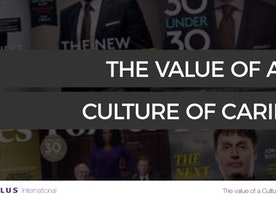 The Value of a Culture of Caring