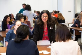 The HERG and Campus Recruiting Host Fannie Mae's First Student Power Lunch