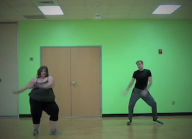 She May Call Herself a 'Fat Girl' -- But Wait Until You See Her Dance! She's Incredible!