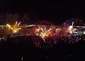 This Man Flew A Drone Into the Fireworks. What Happened Next Left Me Speechless.