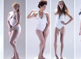 Women's Ideal Body Types Throughout History
