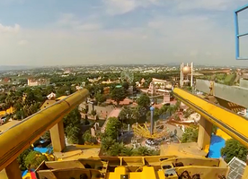 This Roller Coaster Takes You Up Into The Air…Then The Track Runs Out From Under You. No Other Coaster Comes Close To This