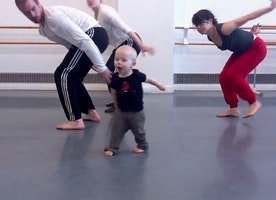 Find Out How This Adorable Toddler Inspired a Modern Dance Choreography