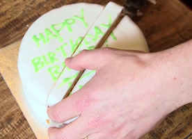 You've Cut Every Birthday Cake You've Had the Wrong Way. Here's the Right Way.