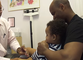 This Doctor Has The Most Ingenious Method of Giving Babies Shots