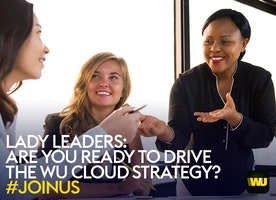 Head of Cloud Center of Excellence at Western Union