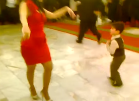 This Woman Dances With a Young Boy, and It's Incredible. You HAVE To Watch This.