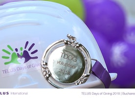 #GiveWhereWeLive: 2018 TELUS days of Giving in Bucharest, Romania