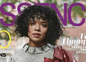 Tessa Thompson Graces the Essence November Cover Issue