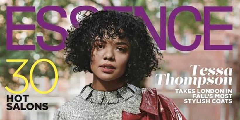 Tessa Thompson Graces the Essence November Cover Issue