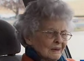 This 92-Year-Old Woman Is Held At Gunpoint. But Her Reaction Brings Her Robber to Tears.