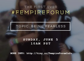 Join me for the first ever #FEMPIREFORUM