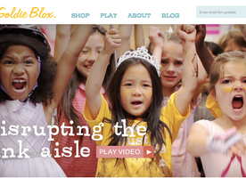 "GoldieBlox: ""Disrupting the Pink Aisle!"""