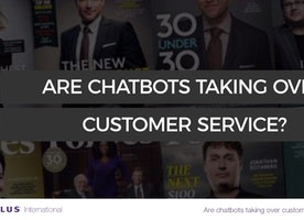 Are Chatbots taking over Customer Service?