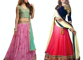 5 Easy to wear ethnic lehenga choli designs that will give complex to all bhabhis or aunties!