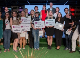 Winners of Women Startup Competition Europe 2016