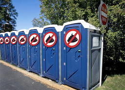 Think Tip Top Toilets for Portable Toilets