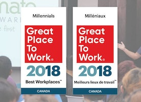 We made the list, Best Workplaces for Millennials - again!