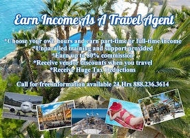 Earn Income as a Professional Travel Agent