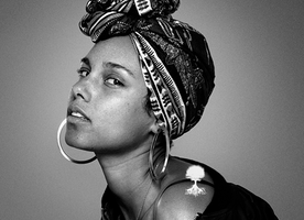 Alicia Keys No Make Up Campaign