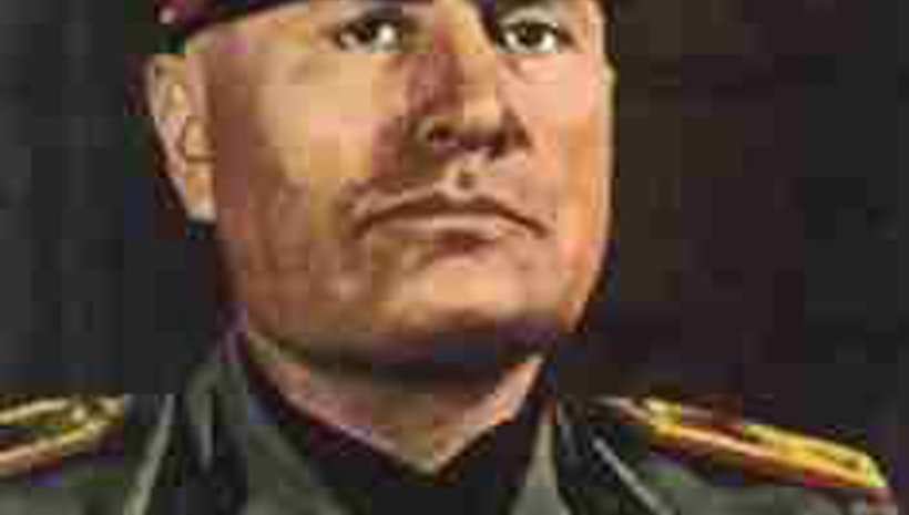 a brief look at benito mussolini an italian fascist leader