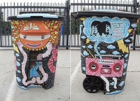 Lively Bins on the Art Side