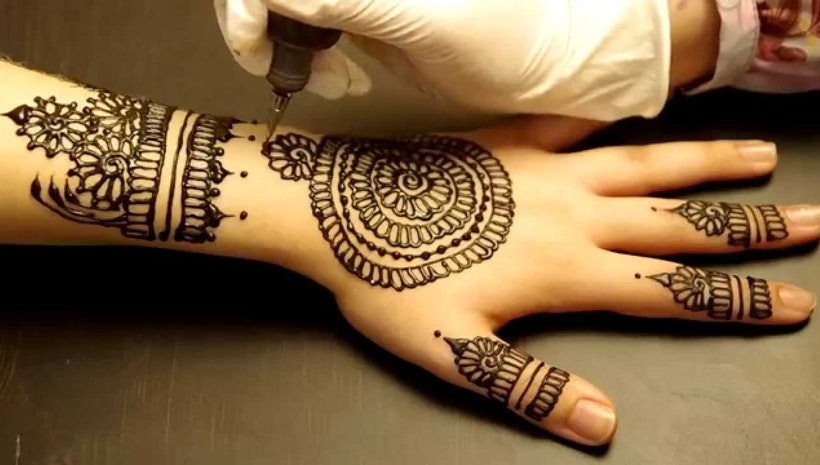 The Gorgeous Indian Henna Tattoo Art: Benefits Of Henna Tattoo