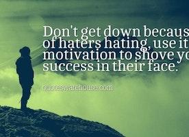 Dear Haters..